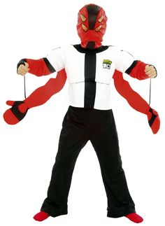 Image detail for Ben 10 Four Arms Costume