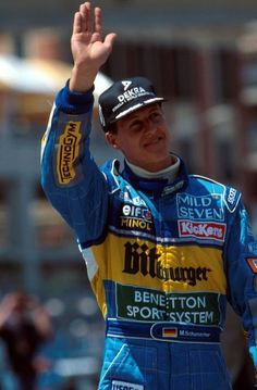 Michael Schumacher 1995 Benetton