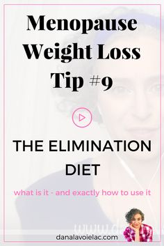 When it comes to menopause weight loss - the elimination diet can be a really useful tool. Join me in this live video to find out how to use it - oh and see the video on my blog to download my FREE weight loss Checklist for menopause.