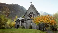 St. Mary and St. Finnan's Catholic Church.  My favorite church in Glenfinnan Scotland