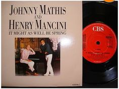 At £4.20  http://www.ebay.co.uk/itm/Johnny-Mathis-It-Might-Well-Spring-CBS-Records-7-Single-650196-7-1986-/251160301368