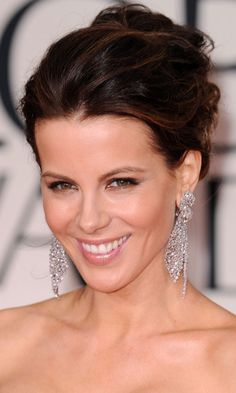 Updo #Wedding #Hairstyles: Get Your Celebrity Inspiration Here! To see more: http://www.modwedding.com/2013/09/30/updo-wedding-hairstyles-get-celebrity-inspiration #weddinghairstyle