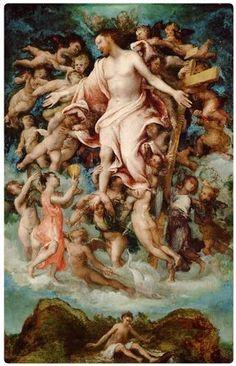 Lorenzo Lotto - Cristo in gloria con simboli della Passione  - Kunsthistorisches Museum, Vienna