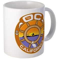 The OC TV Mugs #TheOC #TheOCTV #OrangeCounty #California tons of products - for all of this design click here - http://www.cafepress.com/dd/104181103