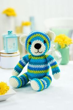 Walter bear - free pattern