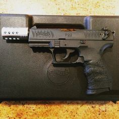 Walther P22Loading that magazine is a pain! Get your Magazine speedloader today! http://www.amazon.com/shops/raeind