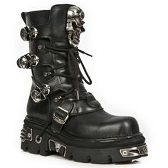 SWING 05 Gothic Punk Rock Boots Stiefel