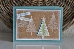 Kreativ mit Liebe!: Weihnachtskarte mit dem Set 'Christbaumfestival'
