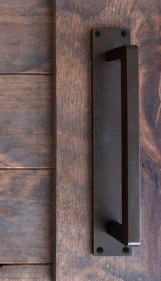 Moor Steel Sliding Barn Door Handle
