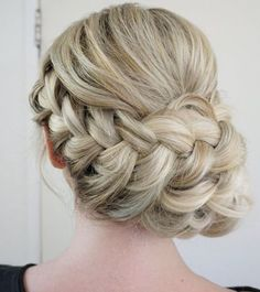 Coiffure De Mariage : Description Featured Hairstyle: Heidi Marie (Garrett) Villa - Hair and Makeup Girl; Best Wedding Hairstyles, Formal Hairstyles, Up Hairstyles, Pretty Hairstyles, Bridal Hairstyles, Fishtail Hairstyles, Hair Upstyles, Special Occasion Hairstyles, Wedding Hair Inspiration