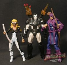 "THE WEST COAST AVENGERS - MARVEL UNIVERSE 3.75"" THE WEST COAST AVENGERS TEAM PACK FIGURES // Marvelicious Toys - The Marvel Universe Toy & Collectibles Podcast"