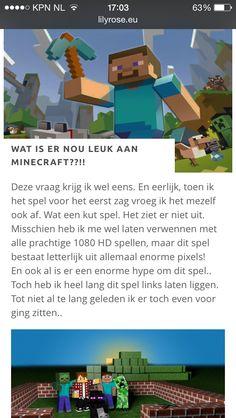 Wat is er nou leuk aan Minecraft?!