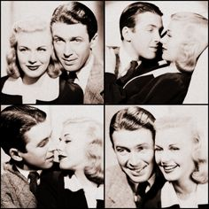 Ginger Rogers and Jimmy Stewart