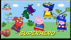 Peppa Pig Superhero Finger Family Song - Nursery Rhymes