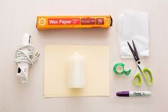 Give Mom a special personalized gift using a material everyone has –tissue paper!