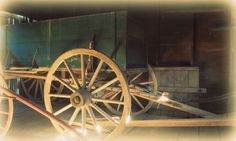 Old wagon at Mennonite Heritage and Agricultural Museum Goessel, KS