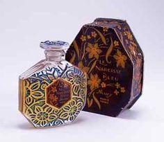 1925 Mury Le Narcisse Bleu Perfume Bottle