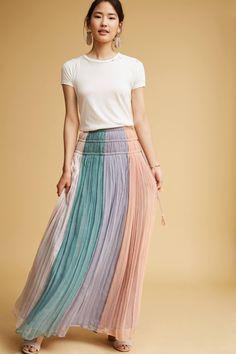 Slide View: 2: Cleo Pastel Skirt