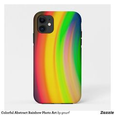 Shop Colorful Abstract Rainbow Photo Art Case-Mate iPhone Case created by gnurf. Cell Phone Cases, Iphone Case Covers, Iphone 11, Apple Iphone, Reflection Photos, Rainbow Photo, Art Case, Abstract Photos, Unique Photo