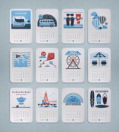 Traina's Endless Summer 2013 Calendar #calendar