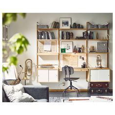 IKEA offers everything from living room furniture to mattresses and bedroom furniture so that you can design your life at home. Check out our furniture and home furnishings! Svalnäs Ikea, Ikea Wall, Wall Mounted Shelves, Room Shelves, Wall Storage, Home Office Design, Office Designs, Home Furnishings, Shelving