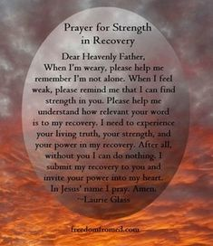 Christian eating disorder recovery-prayers, Scriptures, Psalms, songs and articles about identity in Christ, and encouragement to seek God in your journey Depression Recovery Quotes, Recovery Poems, Addiction Recovery Quotes, Spiritual Prayers, Prayers For Strength, Healing Prayer, Spiritual Awakening, Prayer Verses, Prayers