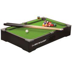Dunlop Tabletop Pool Table Game Set