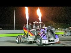 """Big Rig Video, Custom Truck Show, Jet Semi Truck, Kenworth RACING - YouTube"