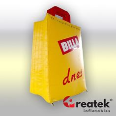 Custom made quality advertising inflatables.