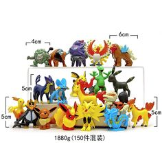 100pcs/lot Cartoon Pikachu Minifigure Action Figures For Gift Anime Pocket toy Monster Doll Puppets Child's Play Hand Dolls Toys #Affiliate