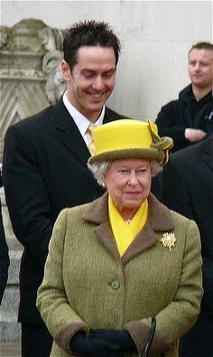 Queen Elizabeth II by Flyin Zi, via Flickr