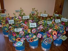 i made these 'patch bouquets' for our court of awards a few years ago. they turned out so cute! @lcyeadon1986