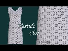 Vanessa Montoro, Crochet Videos, Make It Yourself, How To Wear, Crafts, Clothes, Crochet Dresses, Ideas, Fashion