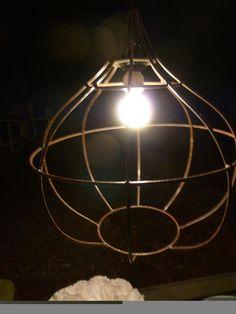 Wire light shade
