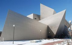 Bold Contemporary Design-The Denver Art Museum by Daniel Libeskind