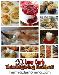 My Special Savory Recipes: 40 Low Carb Thanksgiving Recipes - TheMiracleMomma.Com