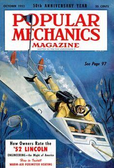 Popular Mechanics Magazinee-1952