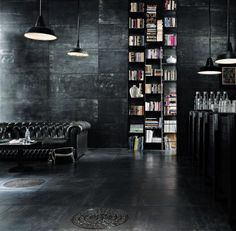 Metal Interior Design 10 beautiful rooms | chic living room, industrial chic and industrial