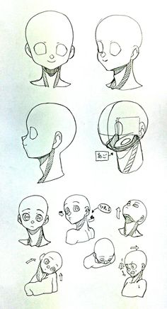 Jaw and neck Manga Drawing Tutorials, Manga Tutorial, Drawing Techniques, Art Tutorials, Anatomy Sketches, Anatomy Drawing, Anatomy Art, Art Sketches, Drawing Reference Poses