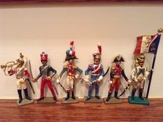 Toy Soldiers 6 Metal Painted 60mm Napoleonics by Starlux #Starlux