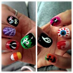 19 best do it yourself nail art images on pinterest nail art halloween nails i did do it yourself nail art solutioingenieria Image collections