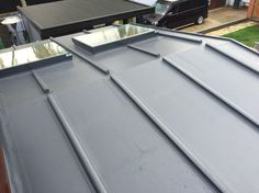 Batten profile roof to mimic a leaded roof with no scrap value what so ever