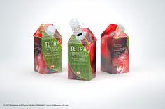 Tetra Pak Gemina Square 500ml 3d model