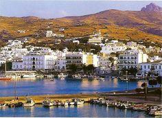 island of tinos greece   Hora, the main town of Tinos island, Greece Photo