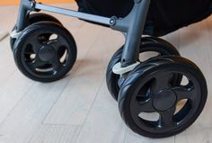 The Caboose has the dual plastic front wheels that make pushing and turning a chore. Running Strollers, Running With Stroller, Baby Strollers, Turning, Infant, Wheels, Plastic, Baby Prams, Baby