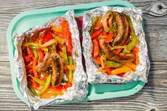Sausage and Peppers Foil PackDelish