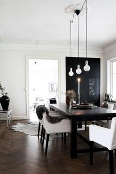 white room my fav dark brown wooden floors my dream world revealed... http//skonahem.com
