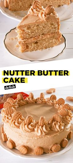 Nutter Butter Cake Is Peanut Butter HeavenDelish