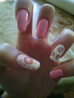 #nails #donuts