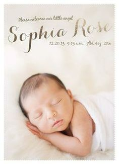 Our Sweet Angel by Christine Ekstrom for Minted.